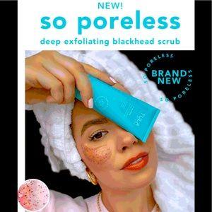 TULA -SO PORELESS DEEP EXFOLIATING BLACKHEAD SCRUB